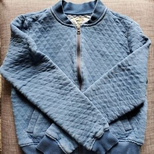 Marine Layer Quilted Swing Bomber